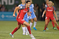 Portland, OR - Saturday August 19, 2017: Christine Sinclair during a regular season National Women's Soccer League (NWSL) match between the Portland Thorns FC and the Houston Dash at Providence Park.
