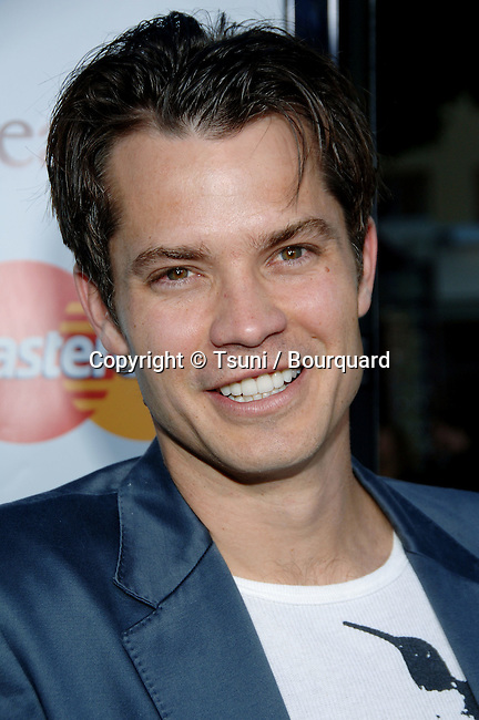 Timothy Oliphant arriving at The BREAK UP Premiere at the Westwood Village Theatre in Los Angeles. May 22, 2006.
