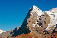 The Eiger North Face from Murren - Alps Switzerland