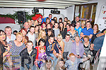 .CROWD; Family and friends gathered at Flahive's Beer Garden, Ballyheigue on Saturday night to celebrate Sophie Casey's 21st Birthday,(Sophie is seated 4th from right).