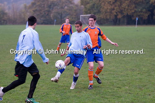 Football match against another local College.  Further Education College.