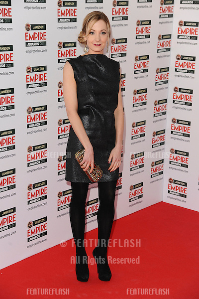 Joanna Froggatt arrives for the Empire Film Awards 2011 at the Grosvenor House Hotel, London. 27/03/2011  Picture by: Steve Vas / Featureflash