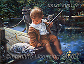 CHILDREN, KINDER, NIÑOS, paintings+++++,USLGSK0172,#K#, EVERYDAY ,Sandra Kock, victorian