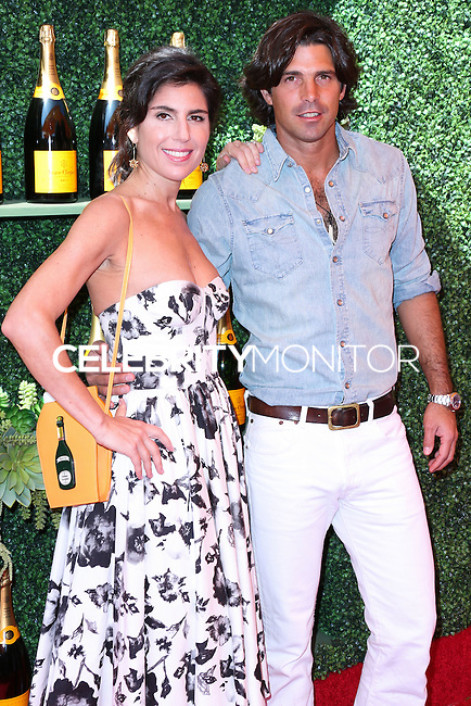 PACIFIC PALISADES, CA, USA - OCTOBER 11: Vanessa Kay, Nacho Figueras arrive at the 5th Annual Veuve Clicquot Polo Classic held at Will Rogers State Historic Park on October 11, 2014 in Pacific Palisades, California, United States. (Photo by Xavier Collin/Celebrity Monitor)