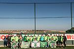05.01.2018, Hotelanlage LA FINCA Golf, Rojales, ESP, TL Werder Bremen Rojales - Alicante Tag 04, im Bild<br /> <br /> Gruppenbild der Mannschaft mit den mitgereisten FANS<br /> <br /> <br /> Foto &copy; nordphoto / Kokenge