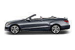 Driver side profile view of a 2014 Mercedes E Class 350 Convertible