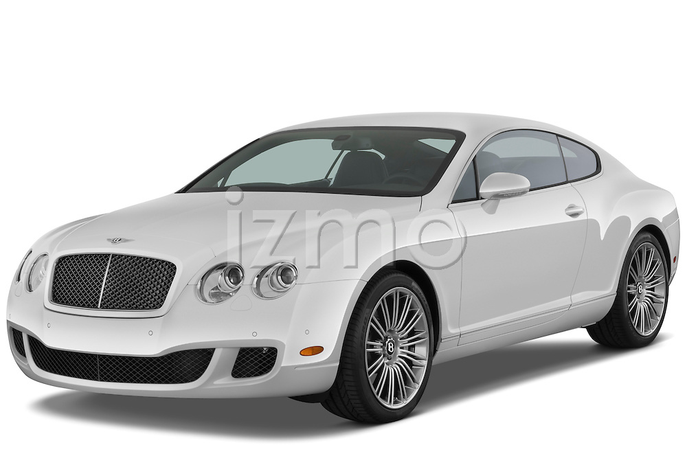 Front three quarter view of a 2008 - 2012 Bentley Continental GT Speed Coupe.