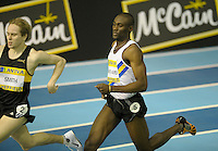 Photo: Ady Kerry/Richard Lane Photography.. Aviva European Trials and UK Championships, 15/02/2009..Raphael Asafo Ageyi in the 800m B Final.
