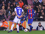 26.01.2017 Barcelona. Copa del Rey.Picture show Denis Suarez in action during game between FC Barcelona against Real Sociedad at Camp Nou