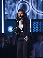NEW YORK - JANUARY 28: Alessia Cara  appears on the 60th Annual Grammy Awards at Madison Square Garden on January 28, 2018 in New York City. (Photo by Frank Micelotta/PictureGroup)