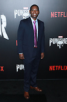 NEW YORK, NY - NOVEMBER 06: Royce Johnson at  'Marvel's The Punisher' New York premiere at AMC Loews 34th Street 14 theater on November 6, 2017 in New York City. Credit: Diego Corredor/MediaPunch /NortePhoto.com