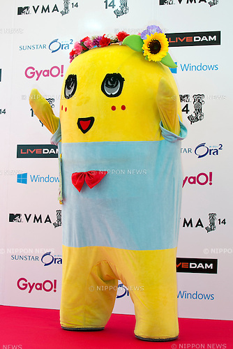 Funassyi, June 14, 2014 : MTV VMAJ (Video Music Awards Japan 2014 at Maihama Amphitheater in Chiba, Japan. (Photo by Rodrigo Reyes Marin/AFLO)