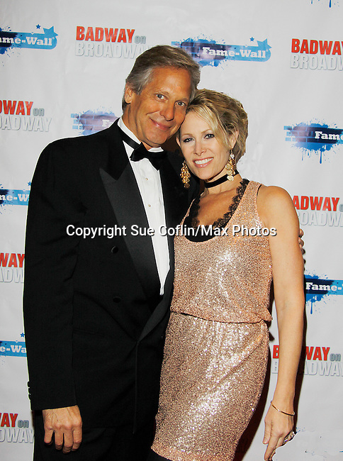 As The World Turns' Scott Bryce and wife and singer Jodi Stevens celebrate  New Year's Eve 2016 at The Copacabana, New York City, New York. (Photo by Sue Coflin/Max Photos)  suemax13@optonline.net