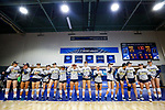 PENSACOLA, FL - DECEMBER 09: Concordia University, St. Paul players watch the runners-up trophy presentation during the Division II Women's Volleyball Championship held at UWF Field House on December 9, 2017 in Pensacola, Florida. (Photo by Timothy Nwachukwu/NCAA Photos via Getty Images)