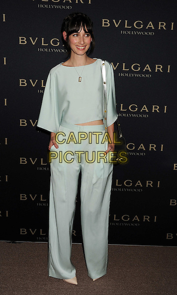 WEST HOLLYWOOD, CA- FEBRUARY 25: Actress Rebecca Dayan arrives at the BVLGARI 'Decades Of Glamour' Oscar Party Hosted By Naomi Watts at Soho House on February 25, 2014 in West Hollywood, California.<br /> CAP/JOR<br /> &copy;Nils Jorgensen/Capital Pictures
