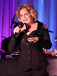 "Lorna Luft performs ""Songs My Mother Taught Me: The Judy Garland Songbook"" at Feinsteins in New York City."