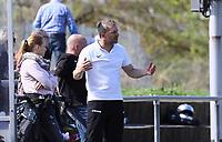Trainer Arndt Hornicek (Büttelborn) - 07.04.2019: SKV Büttelborn vs. TSV Lengfeld, Gruppenliga Darmstadt