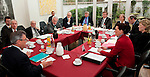 Bruessel-Belgien - 24. Januar 2012 -- Norddeutsche Wissenschaftsminister tagen erstmals in Bruessel - .die Sondersitzung der NWMK (Norddeutsche Wissenschaftsministerkonferenz) ist ein Beitrag Norddeutschlands zu den Beratungen um die Meeres- und Maritime Forschung im Horizon2020 Programm sowie den Foerderthemen des Europaeischen Instituts fuer Innovation und Technologie. Sie weist auf die Bedeutung der Ozeane fuer unsere Zukunft hin und verdeutlicht, dass Deutschland bei ihrer Erforschung eine tragende Rolle spielt. KDM (Konsortium Deutsche Meeresforschung) buendelt wissenschaftliche und technische Kompetenzen Deutschlands im Bereich der Meeresforschung - betont aber auch deren Interessen; hier, unter dem turnusmaessigen Vorsitz Bremens, in der Vertretung der Freien Hansestadt Bremen bei der Europaeischen Union, vlnr (Tischordnung) 1-11: 1- Dr. Rudolf STROHMEIER, Stv. Generaldirektor, GD Forschung, Wissenschaft und Innovation in der EU-Kommission; 2- Christian BRUNS, Leiter Vertretung der Freien Hansestadt Bremen bei der EU; 3- Dr. Thomas BEHRENS, Abteilungsleiter im Ministerium fuer Bildung, Wissenschaft und Kultur, Mecklenburg-Vorpommern; 4-  Dr. Josef LANGE, Staatssekretaer im Ministerium fuer Wissenschaft und Kultur, Niedersachsen; 5- Ruediger EICHEL, Niedersachsen; 6- Dr. Walter DOERHAGE (Dörhage), Freie Hansesstadt Bremen; 7- Dr. Joachim SCHUSTER, Staatsrat bei der Senatorin fuer Bildung, Wissenschaft und Gesundheit, Bremen; 8- Prof. Dr. Karin LOCHTE, Vorsitzende Konsortium Deutsche Meeresforschung; 9- Jan-Stefan FRITZ, PhD, Buero Bruessel, Konsortium Deutsche Meeresforschung;10- Dr. Dorothee STAPELFELDT, Senatorin der Behoerde für Wissenschaft und Forschung, Hamburg; 11- Dr. Cordelia ANDRESSEN (Andreßen), Staatssekretaerin fuer Wissenschaft, Wirtschaft und Verkehr, Schleswig-Holstein -- Photo: © HorstWagner.eu