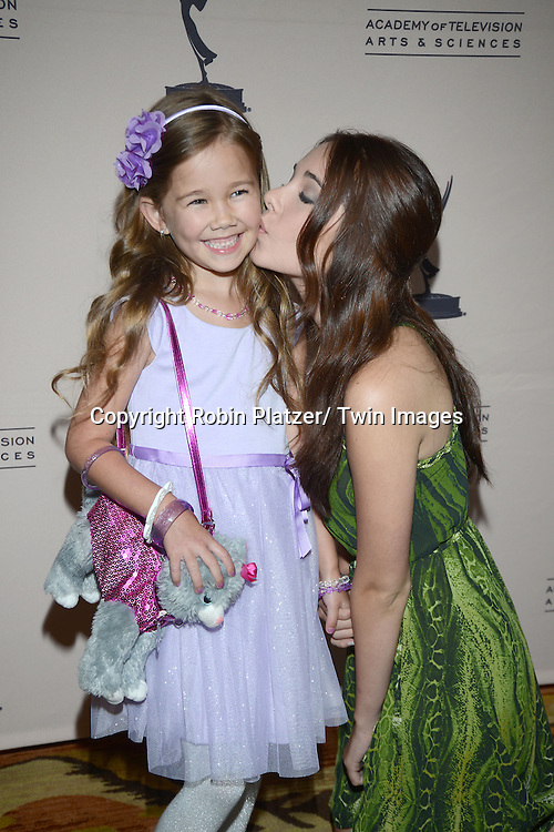 Brooklyn and Haley Pullos attends the Academy Of Television Arts & Science Daytime Programming  Peer Group Celebration for the 40th Annual Daytime Emmy Awards Nominees party on June 13, 2013 at the Montage Beverly Hills in Beverly Hills, California.