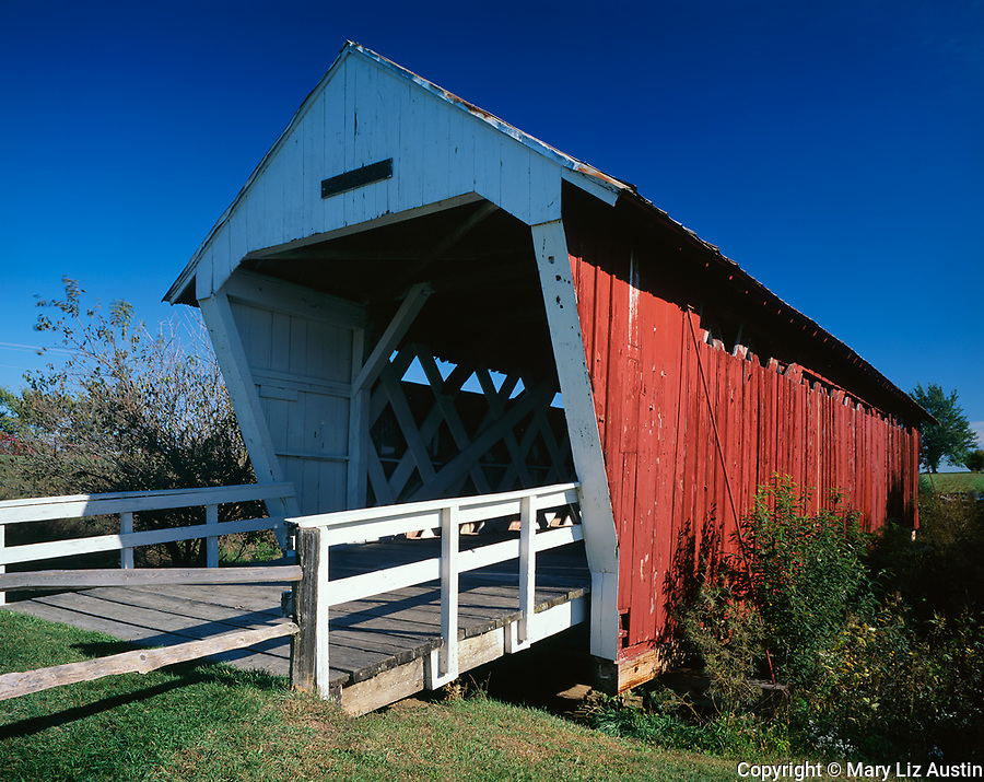 Madison County, IA<br /> Imes covered bridge (1870) near St. Charles