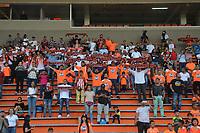 ENVIGADO - COLOMBIA, 04-02-2020.Hinchas Envigado. Partido entre Envigado y el Once Caldas por la fecha 3 de la Liga BetPlay I 2020 jugado en el estadio Polideportio Sur de la ciudad de Envigado. / Fans of Envigado. Envigado and Once Caldas for the date 3 as part of BetPlay League I 2020 played at Polideportivo Sur stadium in Envigado. Photo: VizzorImage / León Monsalve / Cont /