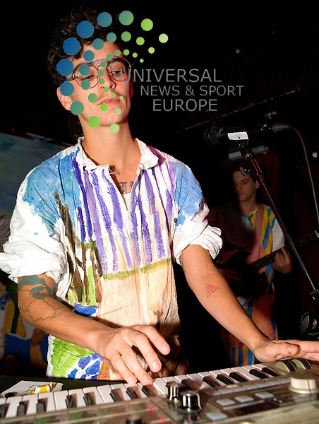 MEN, dance act from Brooklyn, New York, play at Captains Rest in Glasgow on Friday 29th October 2010... .Pictures: Peter Kaminski/Universal News and Sport (Europe)2010