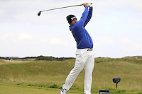 Merrick Bremner (RSA) on the 15th tee during Round 4 of the 2015 Alfred Dunhill Links Championship at the Old Course in St. Andrews in Scotland on 4/10/15.<br />