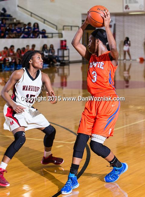 Girls Varsity Basketball - Martin vs. Bowie