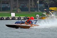 "Jed Wolcott, S-07 ""Blue Chip"", 145 class hydroplane"