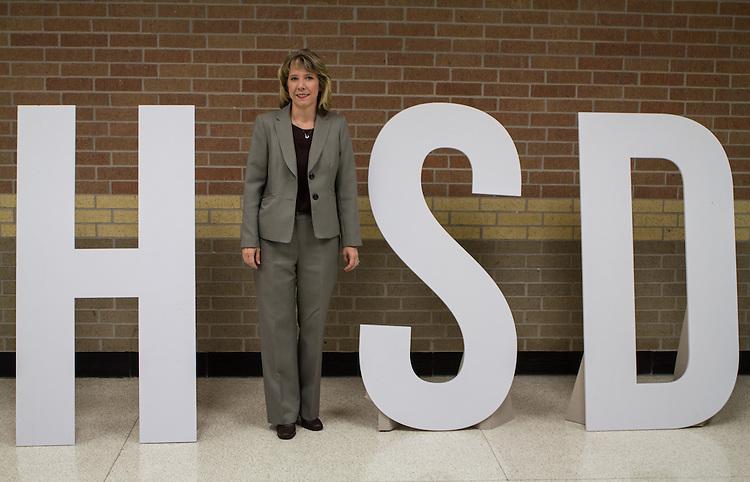 Wendy Hampton, Hamilton Middle School