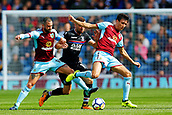 10th September 2017, Turf Moor, Burnley, England; EPL Premier League football, Burnley versus Crystal Palace; Jack Cork of Burnley battles for the ball in midfield