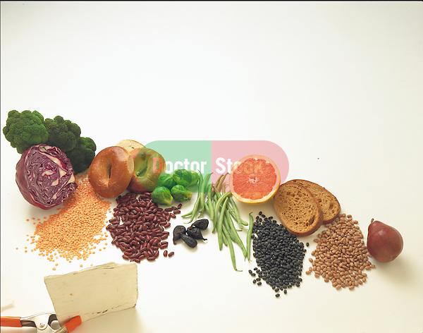 various high fiber foods