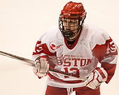 Natasza Tarnowski (BU - 13) - The Boston College Eagles defeated the Boston University Terriers 3-2 in the first round of the Beanpot on Monday, January 31, 2017, at Matthews Arena in Boston, Massachusetts.