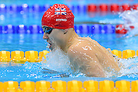 PICTURE BY ALEX BROADWAY /SWPIX.COM - 2012 London Paralympic Games - Day Seven - Swimming, Aquatic Centre, Olympic Park, London, England - 05/09/12 - Oliver Hynd of Great Britain competes in the Men's 200m Individual Medley Final.