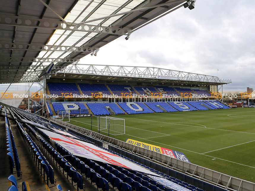 General view of the Stand and pitch at Peterborough United FC during Peterborough United vs MK Dons, Sky Bet EFL League 1 Football at London Road on 28th January 2017