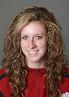 STANFORD, CA - SEPTEMBER 29:  Erin Duffy of the Stanford Cardinal during track and field picture day on September 29, 2009 in Stanford, California.