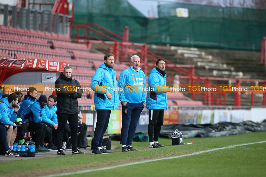 Wrexhams Graham Barrow during Wrexham vs Leyton Orient, Buildbase FA Trophy Football at the Racecourse Ground on 12th January 2019