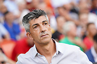 Real Sociedad's coach Imanol Alguacil during La Liga match. August 17,2019. (ALTERPHOTOS/Acero)<br /> Liga Spagna 2019/2020 <br /> Valencia - Real Sociedad<br /> Foto Alterphotos / Insidefoto <br /> ITALY ONLY