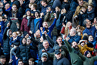 4th January 2020; St Andrews, Birmingham, Midlands, England; English FA Cup Football, Birmingham City versus Blackburn Rovers; Birmingham City fans happy to win the game 2-1 - Strictly Editorial Use Only. No use with unauthorized audio, video, data, fixture lists, club/league logos or 'live' services. Online in-match use limited to 120 images, no video emulation. No use in betting, games or single club/league/player publications