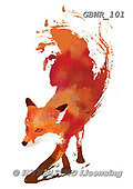 Simon, REALISTIC ANIMALS, REALISTISCHE TIERE, ANIMALES REALISTICOS, paintings+++++RobertF_VulpesVulpes,GBWR101,#a#, EVERYDAY