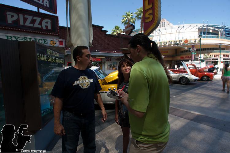 Vegas Cruise car show on Fremont Street  June 5-6 2010