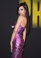 "HOLLYWOOD- DECEMBER 12:  Sofia Carson at the world premiere of ""Pitch Perfect 3"" at the Dolby Theatre on December 12, 2017 in Hollywood, California. (Photo by Scott Kirkland/PictureGroup)"