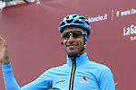 Fabio Aru (ITA) Astana Pro Team at sign on before the start of the 2017 Strade Bianche running 175km from Siena to Siena, Tuscany, Italy 4th March 2017.<br /> Picture: Eoin Clarke | Newsfile<br /> <br /> <br /> All photos usage must carry mandatory copyright credit (&copy; Newsfile | Eoin Clarke)