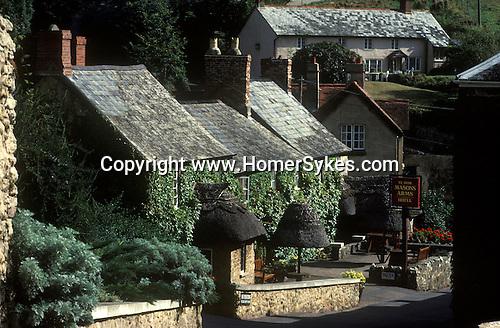 The Village Pub. Mason Arms, Branscombe, Devon, England.