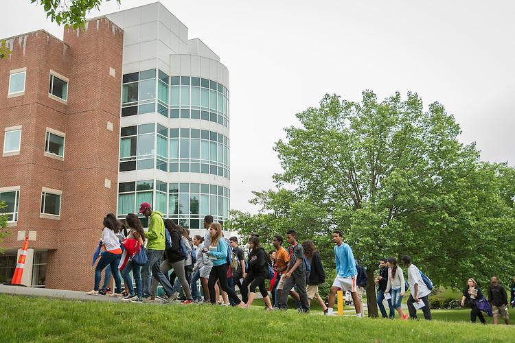 Houston ISD EMERGE students visit Brandeis University, June 4, 2014.