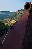 Europe/Espagne/Pays Basque/Guipuscoa/Goierri/Zerain: Complexe minier d'Aizpea: Situé dans la montagne du fer  Aizpitta, Centre d'Interpretación de las minas : Moderne et interactif, montre au visiteur l'époque où on extrayait le fer. Les fours de calcination