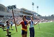 San Francisco, CA &ndash; August 28th 1982<br /> The first Gay Olympic game, the opening ceremony.