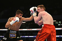 Sanjeev Sahota defeats Steve Backhouse during a Boxing Show at the Copper Box Arena on 20th May 2017
