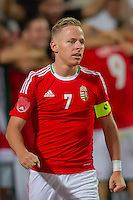 Hungary's Balazs Dzsudzsak is seen during a friendly football match Hungary playing against Israel in Budapest, Hungary on August 15, 2012. ATTILA VOLGYI