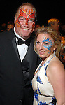"Robert Dale Morgan and Kristy Ralston at the San Luis Salute to ""The Italian Riviera"" at the Galveston Island Convention Center at the San Luis Friday  Feb. 20, 2009.(Dave Rossman/For the Chronicle)"